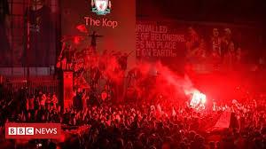 <b>Liverpool FC</b>: Ecstatic fans party on the <b>streets</b> - BBC News
