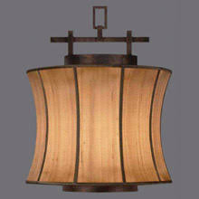 fine art lamps 233449 fusion pendant asian style lighting
