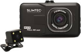 Автомобильный <b>видеорегистратор Slimtec Dual</b> F2