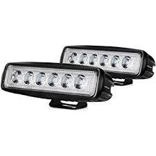 LED Light Bar Nilight 2PCS 18w Spot Lights Led Pods ... - Amazon.com