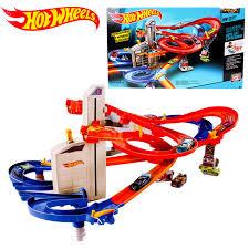 <b>Hot Wheels Roundabout Track</b> playset Kids Electric <b>Toys</b> Square ...