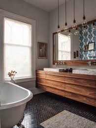 going dark black interiors greige design im liking floating vanities bathroom lighting bathroom pendant lighting vanity light