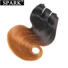 <b>Spark</b> 100% <b>Human Hair</b> Bundles <b>Peruvian Body Wave</b> Hair 8inch ...