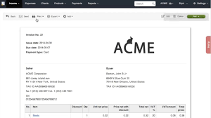 invoiceocean crunchbase video tutorial 1 how to issue an invoice