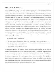 Best Photos of Business Plan Summary Examples   Executive Summary       executive summary