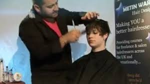 metin warwick hair design hairdressing courses video dailymotion how to make short hair look different crop