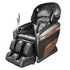 TITAN Pro Dreamer Series Black <b>Faux Leather Reclining Massage</b> ...