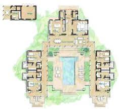 images about floor plans on Pinterest   Floor Plans  House    Architecture  Amusing First Floor Plan  Enchanting Hacienda Style Home Plans