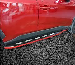 <b>Пороги</b>, <b>боковые подножки Pig</b> Car для Toyota RAV4 ( Тойота Рав4 )