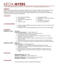 entertainment industry resume objective cipanewsletter resume examples music industry sample customer service resume