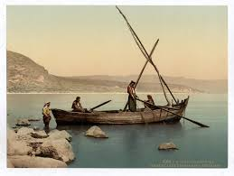 Image result for jesus and disciples on the boat