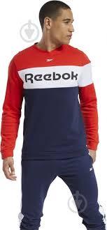 ᐉ <b>Джемпер Reebok TE</b> LL FLC Crew FS8473 р. S • Купить в Киеве ...
