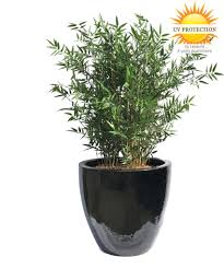 Plastic <b>Artificial Bamboo plant</b> uv-resistant | 8 year Colourguarantee ...