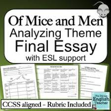 of mice and men themes essay    images about of mice and men on pinterest   of mice and men