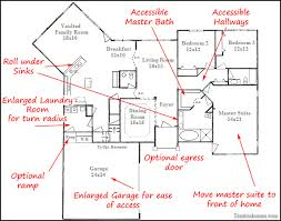 Functional Homes  Universal Design for Accessibility   Bedroom    Functional Homes  Universal Design for Accessibility   Bedroom Wheelchair Accessible House Plans   handicap   Pinterest   Wheelchairs  House plans and