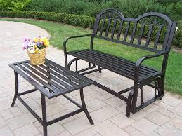 metal outdoor furniture black black outdoor furniture