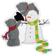 Наклейки новогодние <b>Winter Wings</b> Me to you Медвежата Тедди и ...