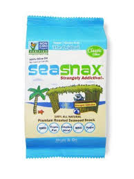 SeaSnax <b>Classic Olive Roasted Seaweed</b> Snack 018 oz ...