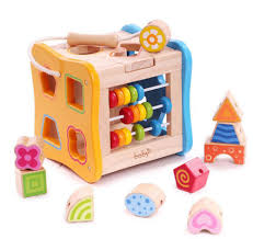 <b>Wooden Educational Toy</b> Fruit Shape <b>Color</b> Stacking Block Chunky ...