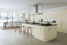 New Doors For Kitchen Units Ivory High Gloss Slab Kitchen Doors