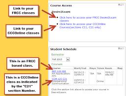 CCCOnline Classes - FRCC