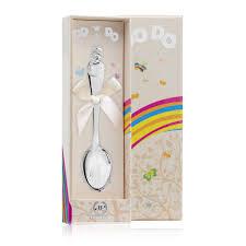 """Десертная серебряная ложка """"Снеговик"""" 011ЛЖ03801 купить ..."""