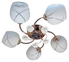 <b>потолочный</b> светильник <b>JUPITER LIGHTING</b>, Е27, 5х60 Вт