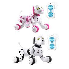 DIMEI 9007A <b>2.4g Wireless Remote Control</b> Intelligent Robot Dog ...