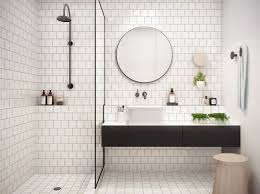 bathroom white tiles: s with white tile pure and crisp white s pivotech on