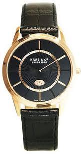 Круглые стальные наручные <b>часы HAAS & Cie</b> с сапфировым ...