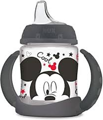 NUK <b>Disney Learner Cup</b> with Silicone Spout, Mickey Mouse, 5 Oz ...