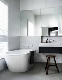 white vanity cottage bathroom arent pyke robson rak architects toorak  robson rak architects toorak