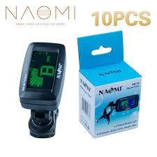 <b>NAOMI</b> Tuner NM 86 <b>10PCS</b>/Lot LCD Clip on Guitar Tuner Bass ...