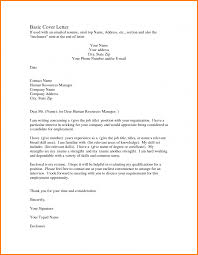 basic cover letter format nypd resume related for 6 basic cover letter format
