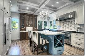 kitchen cabinets home office transitional: fold down desk kitchen transitional with artistic tile colored cabinetry