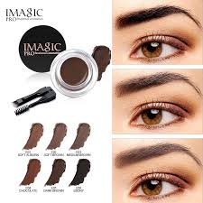 [Bayar Di Tempat]IMAGIC <b>Eyebrow Gel</b> Tatto Gel <b>6 Color</b> Warna Anti ...