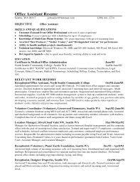 resume for medical office  seangarrette coresume for medical office