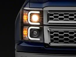 2014-2018 Silverado 1500 <b>Headlights</b>, LED, HID, Halo <b>Headlights</b> ...