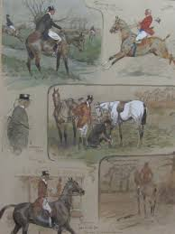 charles johnson payne snaffles british 1884 1967 the aspects charles johnson payne snaffles british 1884 1967 the aspects of hunting watercolour and pencil heightened in white signed snaffles and variously