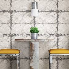 kitchen wallpaper waterproof fire proof oil pollution prevention high temperature resistant wall paper self adhesive