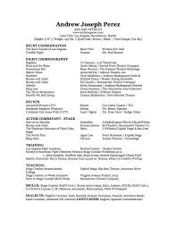 fight choreographer andrew joseph perez you can view and his resume here