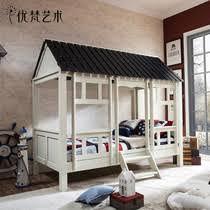van gogh art uvanteen american village wood child friendly furniture garden bed log cabin bed crib child friendly furniture