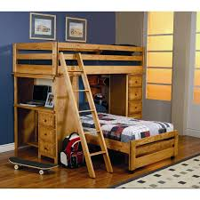 l shaped bunk bed for twind with desk and drawers near square rug style bunk bed office
