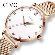 <b>CIVO Woman</b> Watch 2019 <b>Fashion Luxury</b> Quartz Watches <b>Women</b> ...