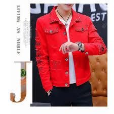 Autumn And <b>Winter</b> Mens Port Style Denim Jacket Denim Jacket ...