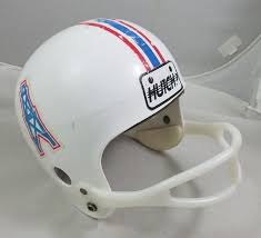 Vintage Hutch Full Size Replica Football Helmet Houston <b>Oilers</b> ...