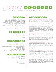 resume peggotty pink green dots