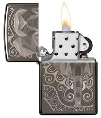 Zippo <b>Elephant</b> Fancy Fill Design Black Ice (49074)   <b>зажигалка</b> ...