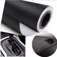 CHIZIYO <b>30cmx127cm 3D Carbon</b> Fiber Vinyl Car Wrap Sheet Roll ...
