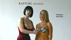 Eldorado presents SCT02 <b>Stainless Steel Bra</b> by Rapture - YouTube